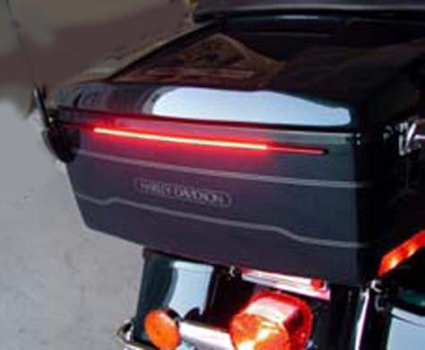 Smoked Lens 9903-82R Radiantz Laydown LED Tail Lamp with License Top Plate Illumination